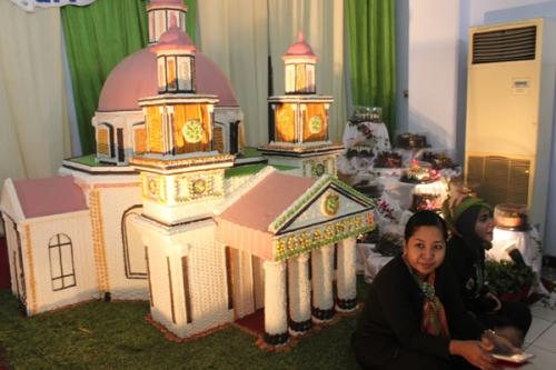 Miniatur Gereja Blenduk